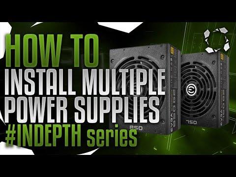 How To Bridge Multiple Power Supplies #INDEPTH Series