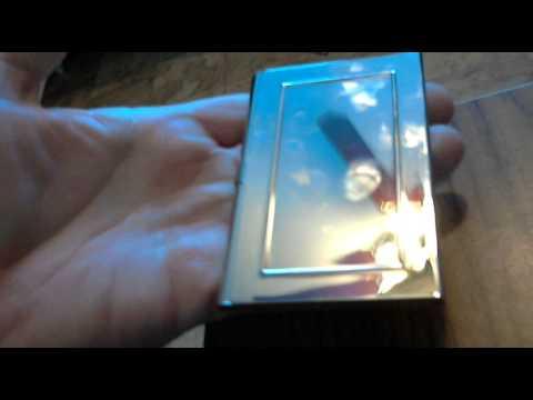 Business card holder vista print youtube business card holder vista print reheart Gallery