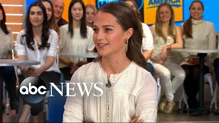 Alicia Vikander opens up about 'Tomb Raider'
