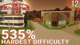 Surviving Mars 535% HARDEST DIFFICULTY - Part 12 - Hakuna Matata - Gameplay