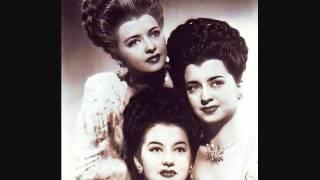 The De Castro Sisters - Teach Me Tonight Cha Cha (1958)