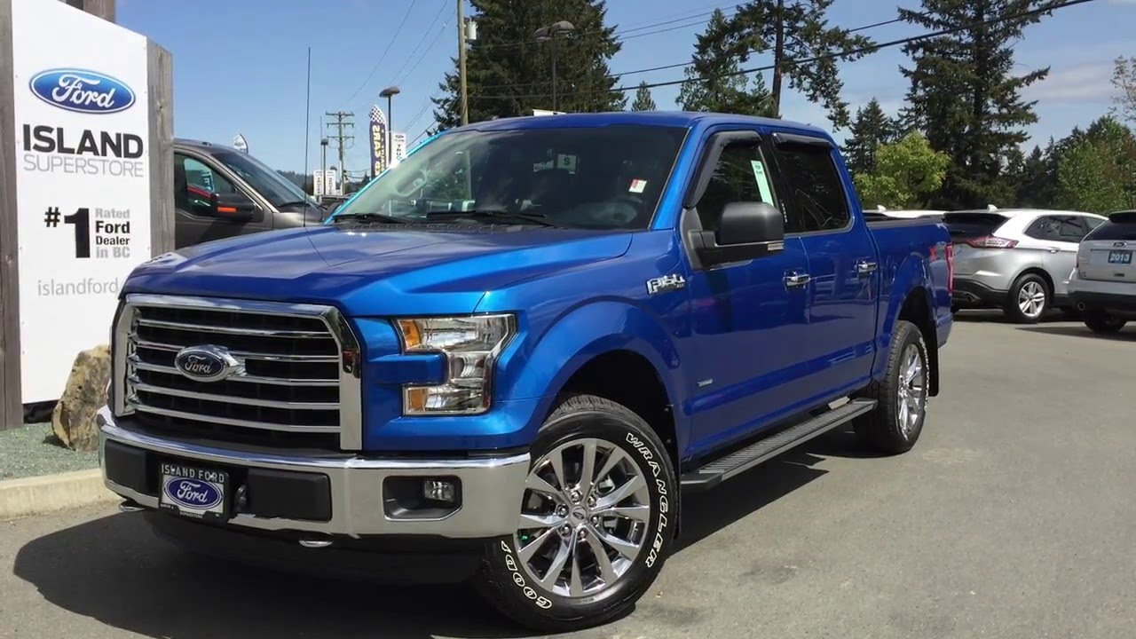 2016 ford f 150 supercrew xlt xtr review island ford youtube. Black Bedroom Furniture Sets. Home Design Ideas