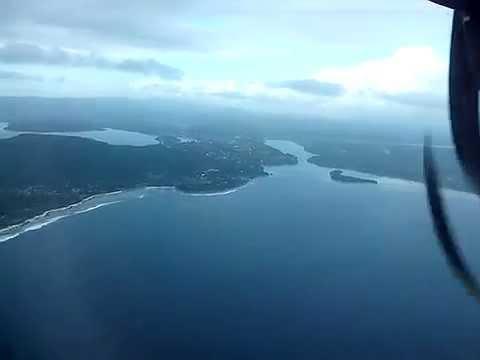 FLYING in Vanuatu   Over Tropical Islands