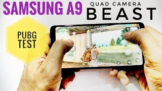 SAMSUNG A9 GAMING TEST|PUBG |FREE FIRE |HALFTECH