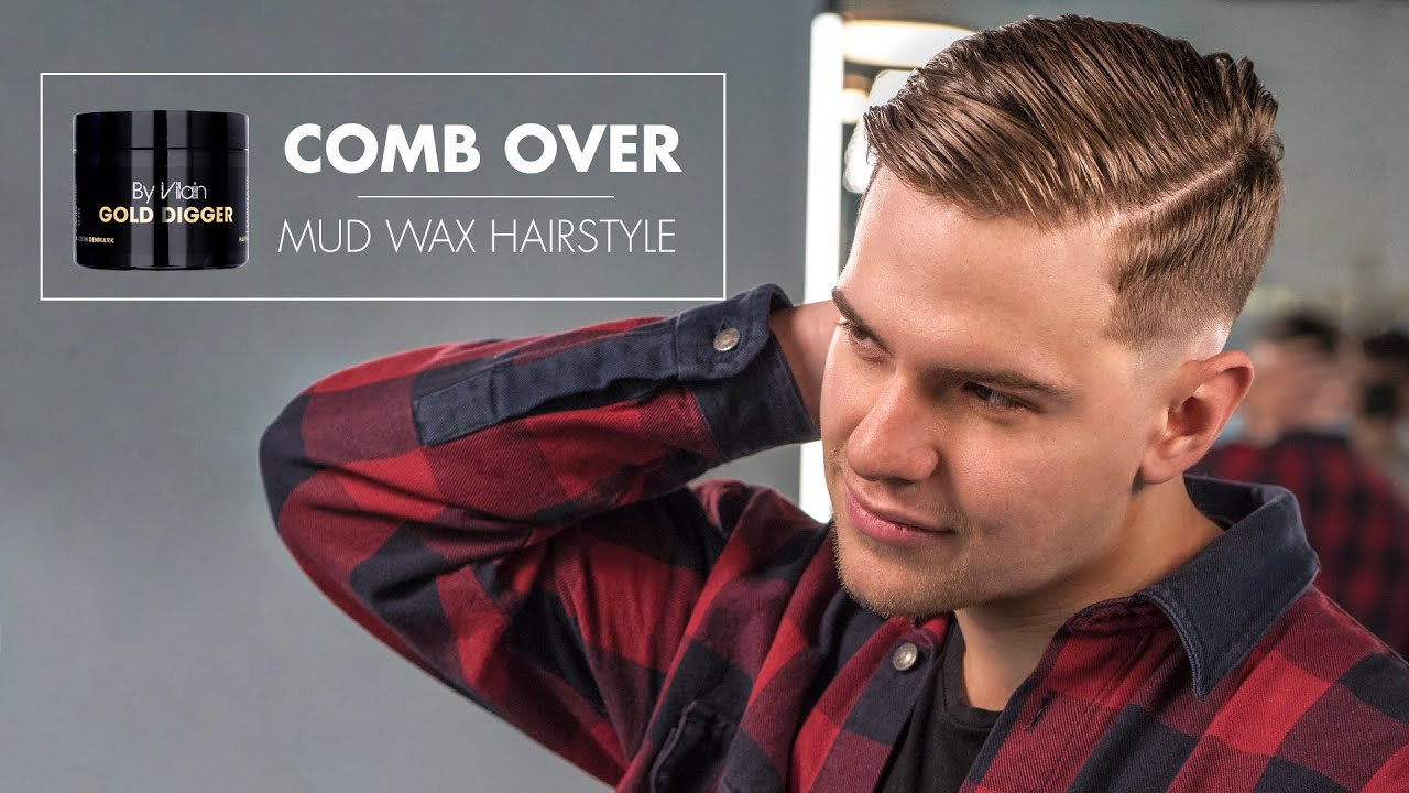 Mens Hair - Comb Over Skin Fade