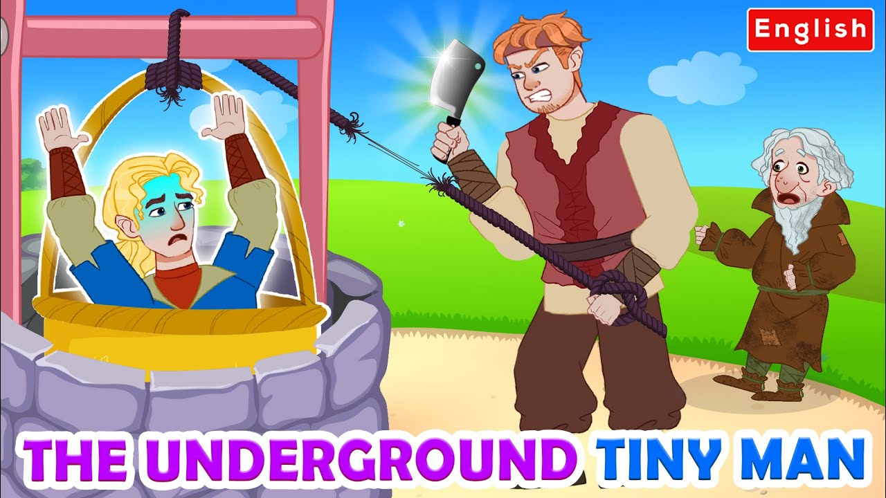 The Underground Tiny Man Story 👦 | Story For Teenagers | WOA Fairy Tales