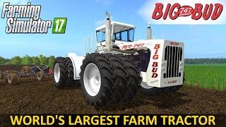 Farming Simulator 17 BIG BUD 16v 747 Tractor