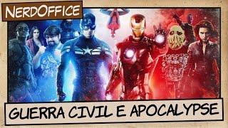 Guerra Civil e Apocalypse | NerdOffice S06E36