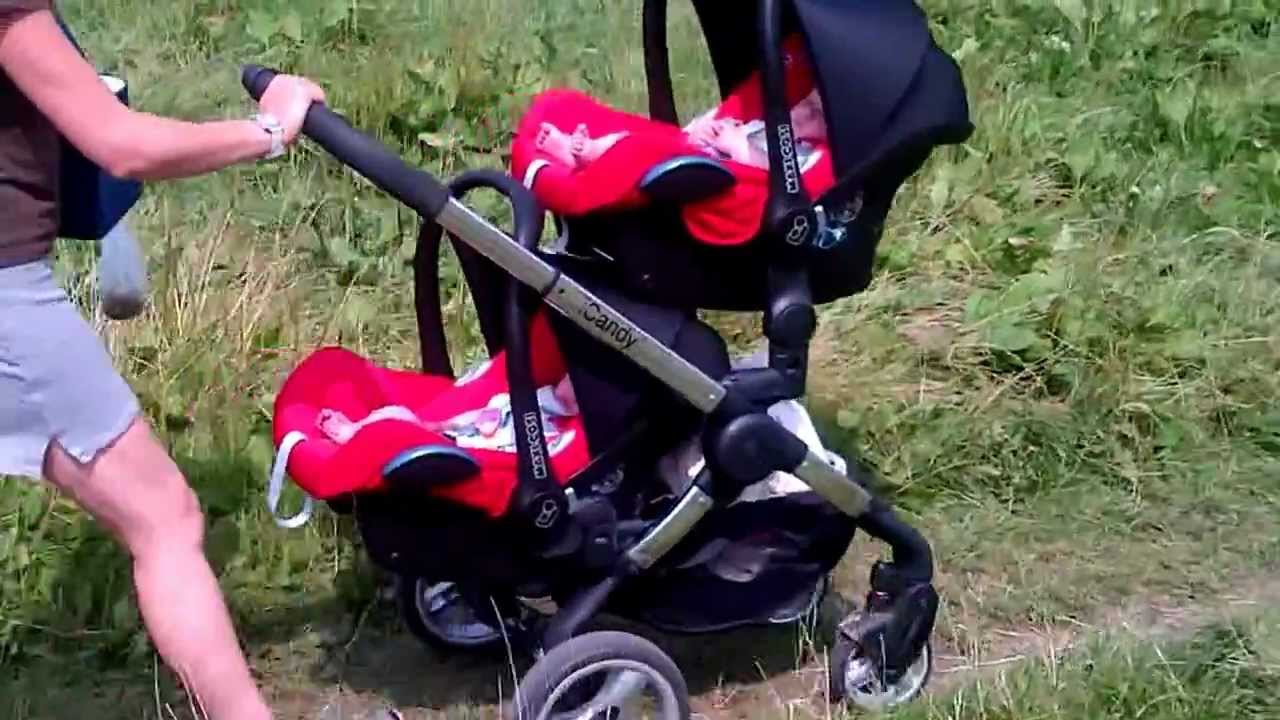icandy peach blossom twin - YouTube