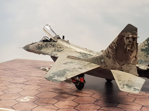 Mig-29  in 1/48,  Great Wall Hobby