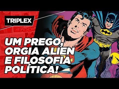 A HISTÓRIA MAIS BIZARRA DA LIGA DA JUSTIÇA!   #TRIPLEX1