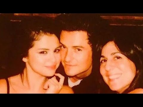 Selena Gomez Spotted w/ Orlando Bloom & Denies Dating Charlie Puth