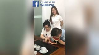 Watermelon Challenge Cheating Chinese - How to Finish Watermelon in One Go | Tension Free