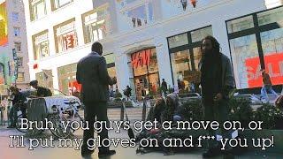 Walgreens Security VS Homeless Youth Downtown San Francisco (4K UHD)