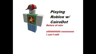 Playing Roblox w/CairoDot (legopump)