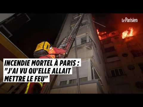 Incendie Mortel à Paris :