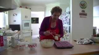 Marina's Kitchen   -  Blueberry Choc Coconut Muffins -(gluten Free )