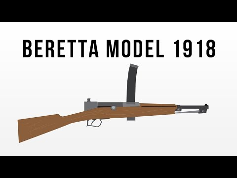 Beretta Model 1918, The first true SMG?