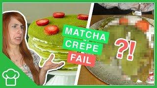 Matcha Crepe Torte // Mega Fail 😂😱
