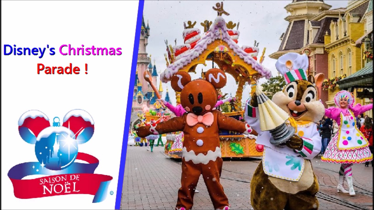 youtube disneyland noel 2018 Disney's Christmas Parade   Full Soundtrack 2018  Disneyland Paris  youtube disneyland noel 2018