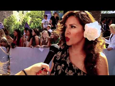 Maria Canals Barrera talks Wizards of Waverly Place at the 2011 Teen Choice Awards