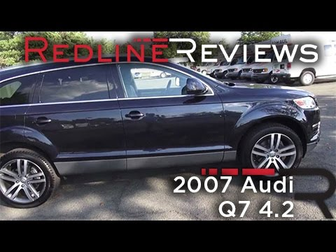 2007 audi q7 4 2 review walkaround exhaust test drive. Black Bedroom Furniture Sets. Home Design Ideas