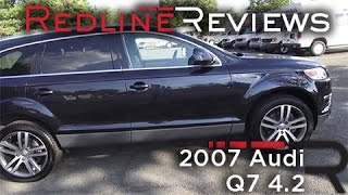 2007 Audi Q7 4.2 Review, Walkaround, Exhaust, Test Drive