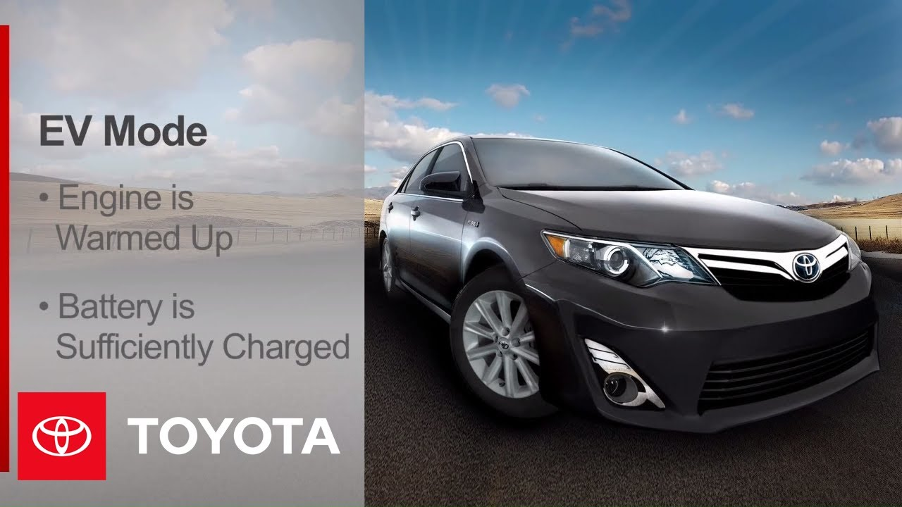 2017 Camry Hybrid How To Drive Modes Toyota