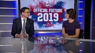 The 2019 fixture revealed