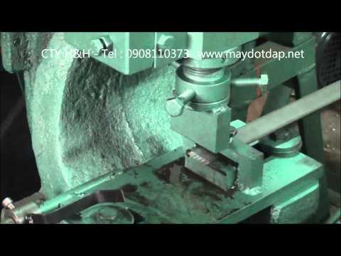 Máy chặt sắt la