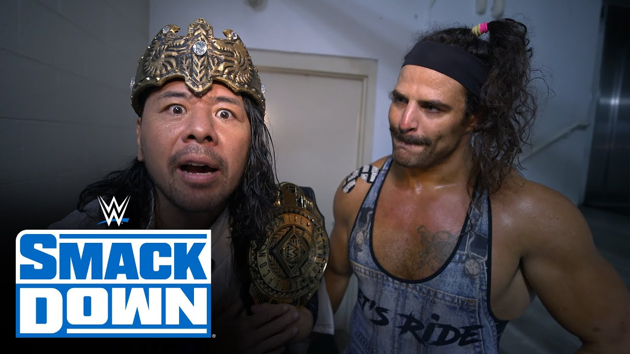 Download King Nakamura is livid after suffering sneak attack: SmackDown Exclusive, Sept. 17, 2021