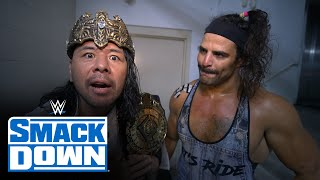 King Nakamura is livid after suffering sneak attack: SmackDown Exclusive, Sept. 17, 2021