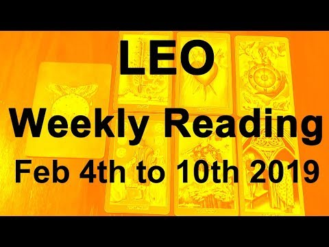 leo tarot reading february