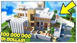 VINCIAMO UNA CASA DA 100.000.000 DOLLARI! - Minecraft ITA