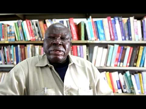 Interview with Alfredo Lado, Juba University Librarian.MOV