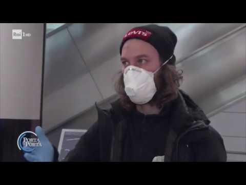 Coronavirus: la situazione a Fiumicino - Porta a porta 01/04/2020