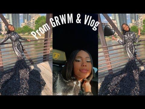 Prom GRWM & vlog : stressfulllll😭