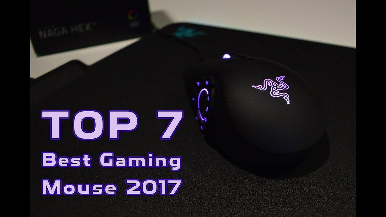 TOP 7 Best Gaming Mouse 2017!