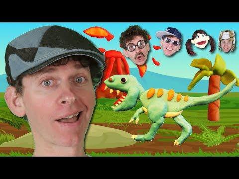 Johny Johny Yes Papa PART 4 | Dino Park with Matt and Friendly Family | Nursery Rhymes