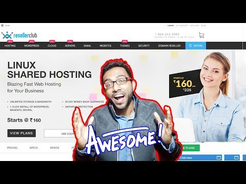 Best and Cheapest Web Hosting🌏for Rs.160 Only 😍 Unlimited Bandwidth & DiskSpace – ResellerClub