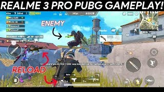 Realme 3 PRO PUBG Gameplay with FPS measurement! Intense gameplay