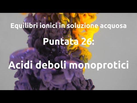 Equilibri ionici 26: