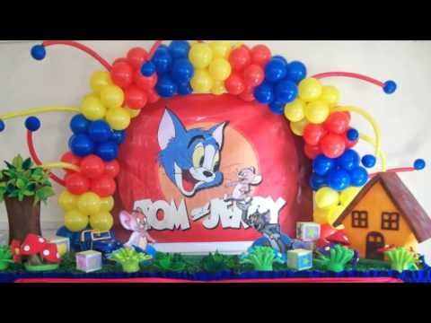 Tom and Jerry Party Supplies YouTube