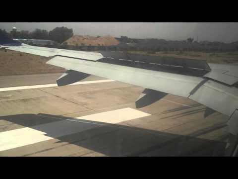 Aircosta flight LB696 Landing at Jaipur International Airport