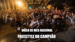 Freestyle do Campeão Orochi - Duelo de MCs Nacional 2015 - 22/11/15