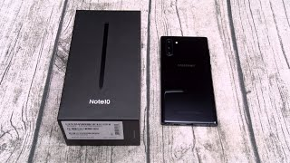 Samsung Galaxy Note 10 - Unboxing and First Impressions