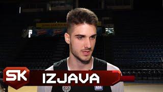 Izjava Radeta Zagorca pred meč Partizan - Trento | SPORT KLUB Košarka