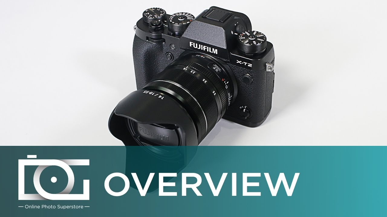 Fujifilm X T2 Mirrorless Digital Camera With 18 55mm F28 4 R Lm Ois Fujinon Xf18 Lens Release Video Youtube