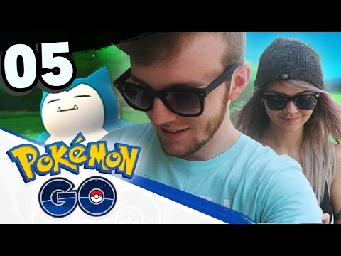 Let's Play Pokemon GO! • Part 05 • USA POKEMON HUNTING! • Pokemon GO Gameplay