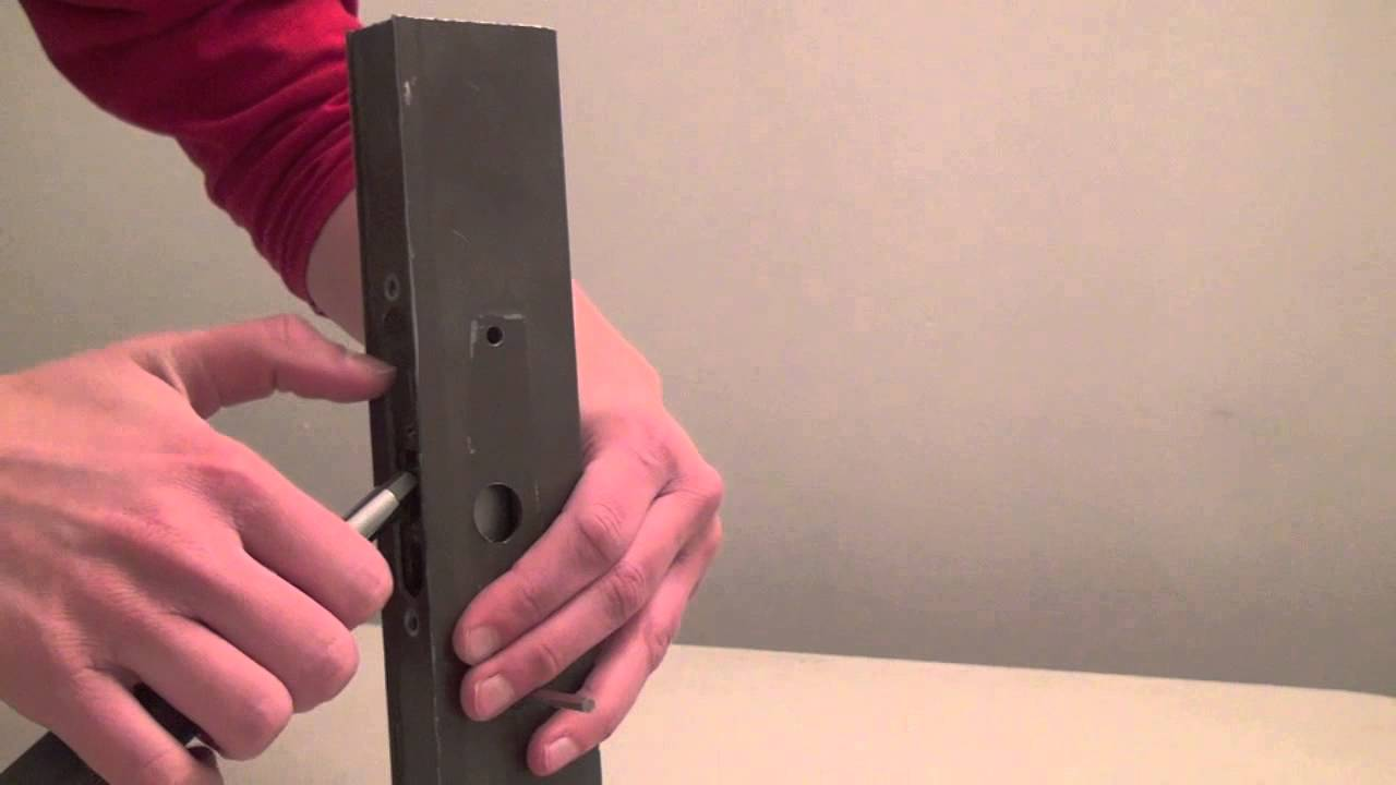 How to Replace a Single-Hook Lock on a Sliding Door